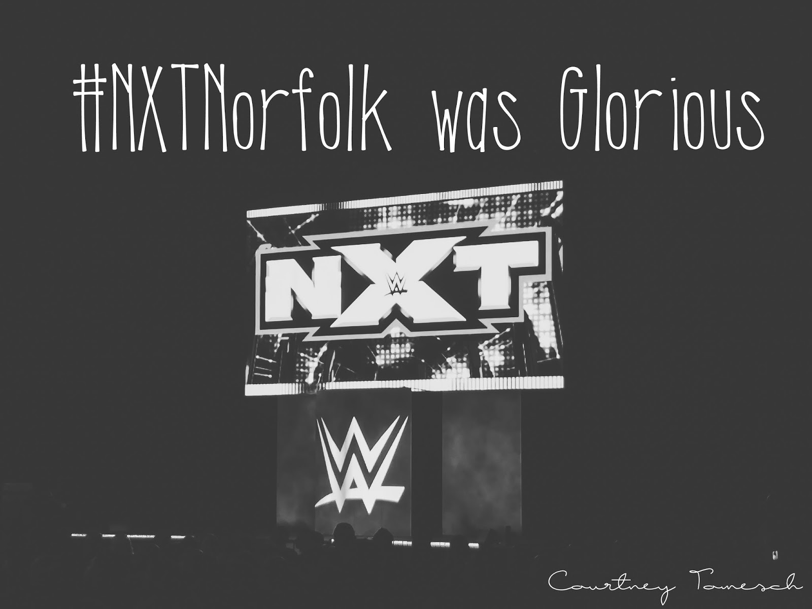 Courtney Tomesch NXT Live Norfolk