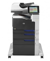 HP LaserJet Enterprise 700 MFP M775f has a print speed of up to 30ppm and print speed of the first sheet is only 10.5 seconds.