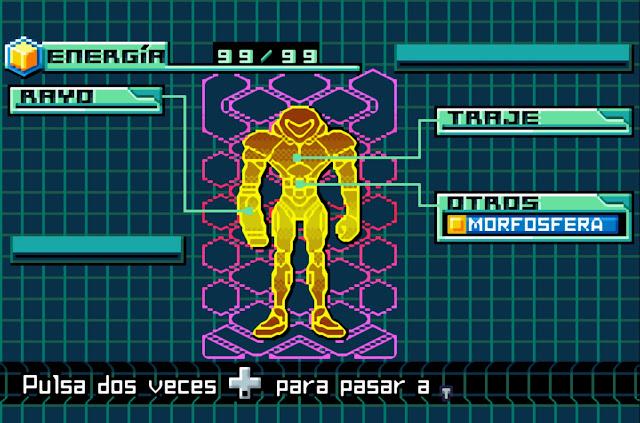 Metroid: Zero Mission - Español - Captura 3
