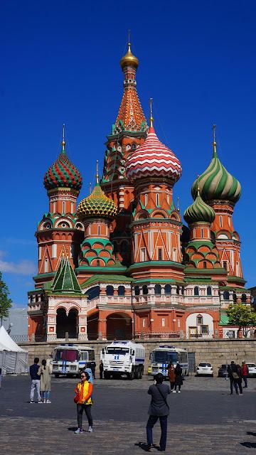 Изображение Храма Василия Блаженного, вид с Васильевского спуска