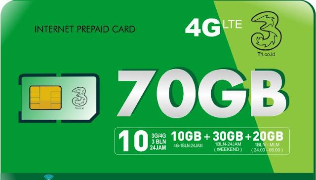 paket data internet 3 murah
