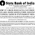 SBI Jr. Associate & Jr. Agriculture Associate Recruitment 2016