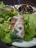 Shrimp summer roll by Appetit Voyage