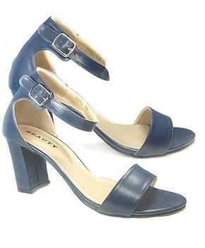 Sepatu Chunky sandal high heels yang nyaman dipakai