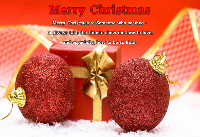 Christmas Love Wishes Image