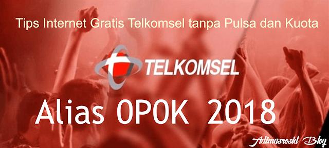 Tips Internet Gratis Telkomsel tanpa aplikasi terbaru