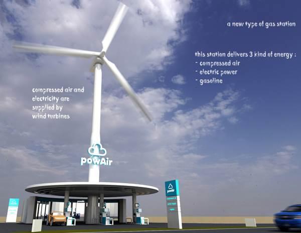 stesyen minyak hybrid