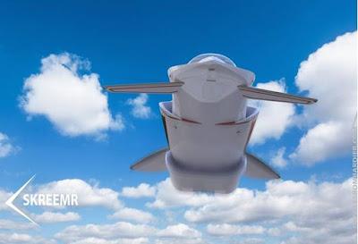 SkreemR L'avió del futur que podria viatjar 10 vegades més ràpid que el so
