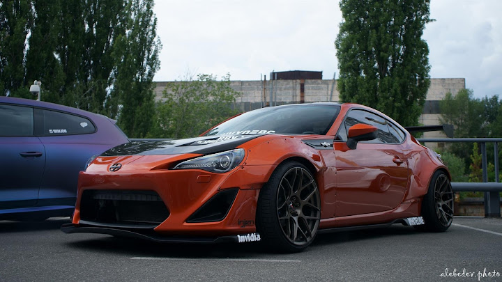 Scion FR-S staticasf*ck on Work VS-XX