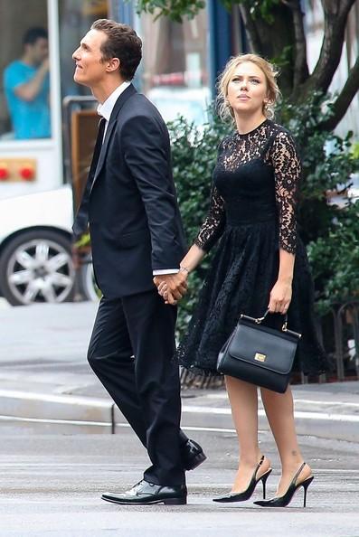 Coming Soon Scarlett Johansson And Matthew Mcconaughey For Dolce Gabbana Laiamagazine