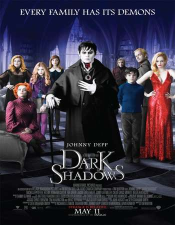 Poster Of Dark Shadows 2012 Hindi Dual Audio 500MB BluRay 720p ESubs HEVC Free Download Watch Online downloadhub.in
