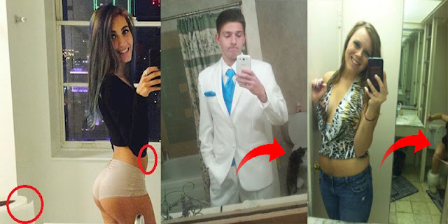 10+ Selfie Fails That Need A Serious Background Check