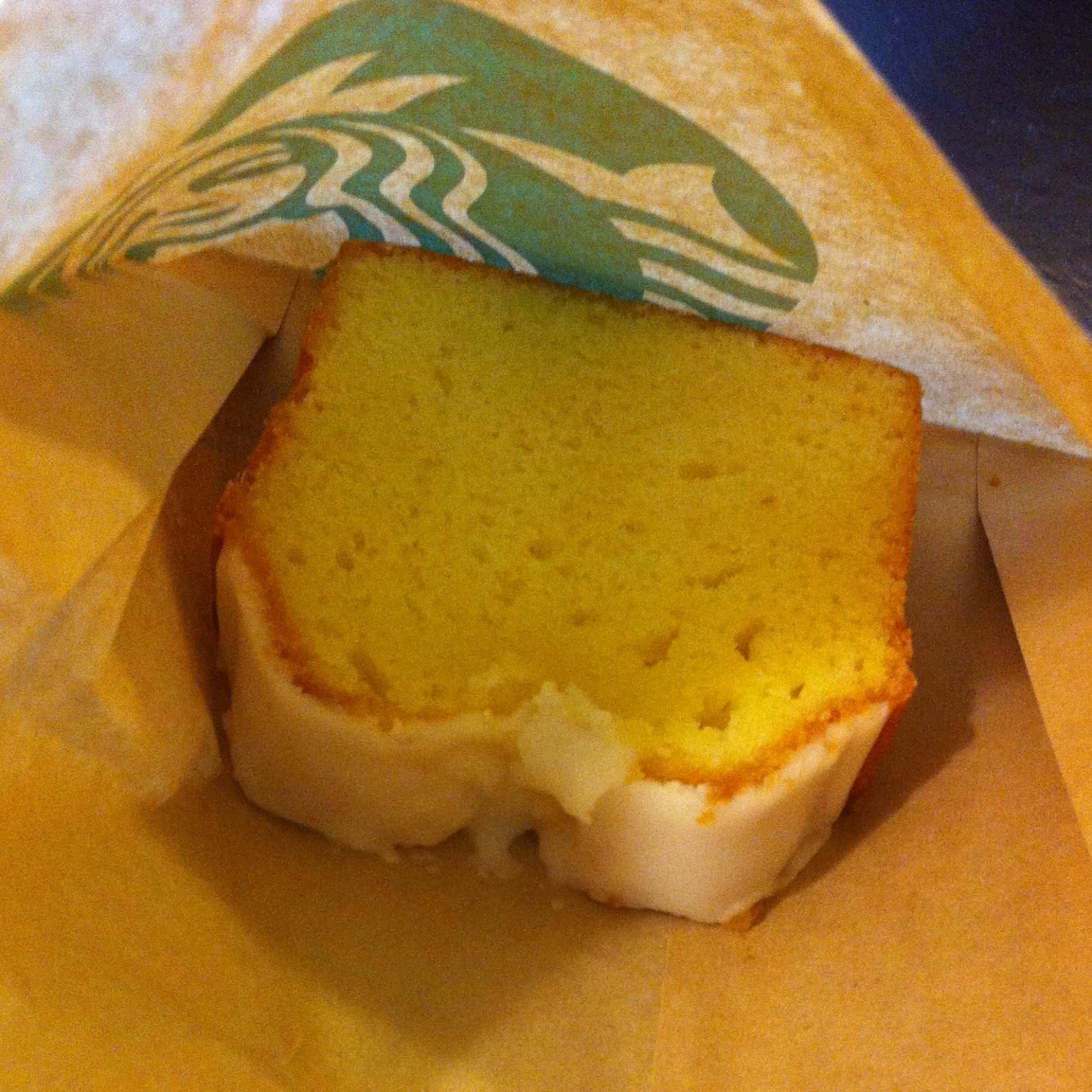 Starbucks Lemon Cake Calories