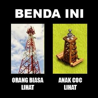 Meme Lucu COC Editan