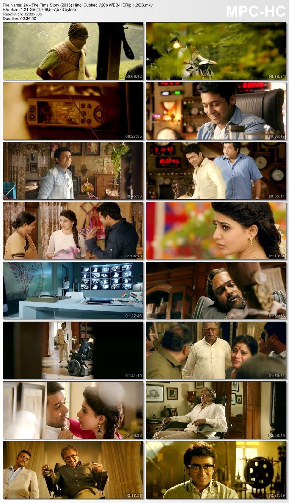 24 – The Time Story (2016) Hindi Dubbed 720p WEB-HDRip 1.2GB Desirehub