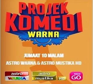 Projek Komedi Warna 2015