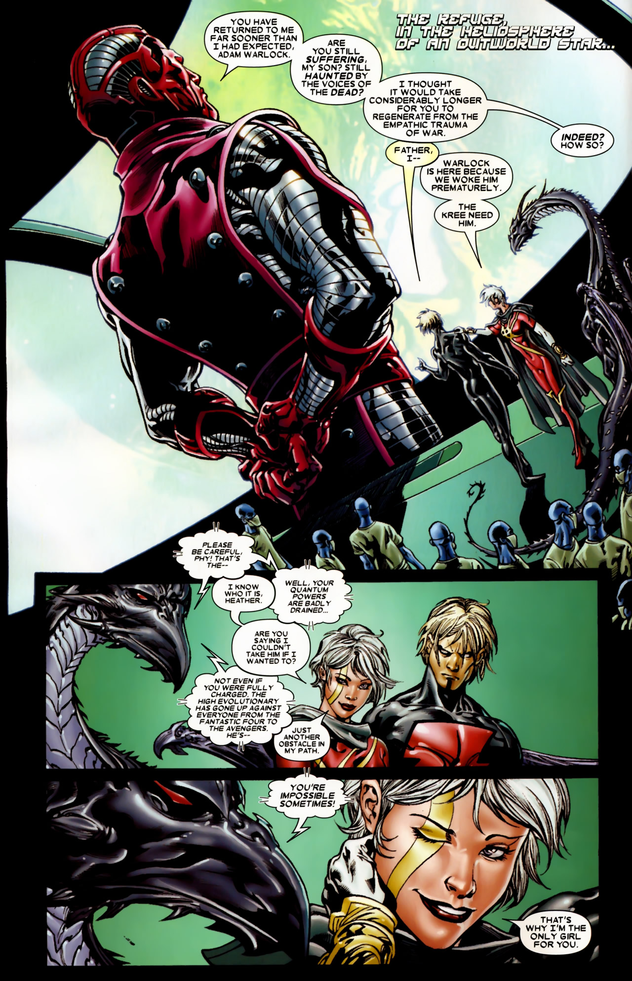 Read online Annihilation: Conquest comic -  Issue #2 - 6