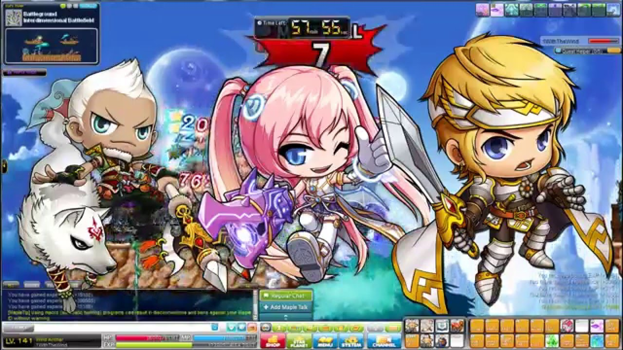 maplestory top classes