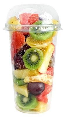 Foto de vaso de Macedonia de Frutas
