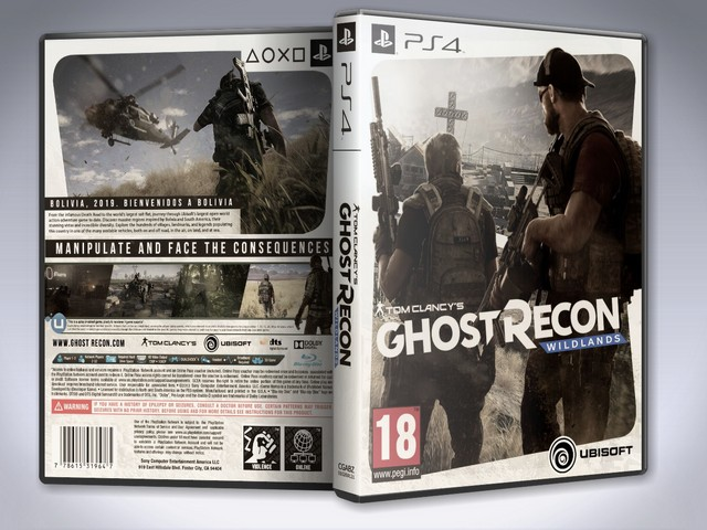 Capa Ghost Recon Wildlands PS4