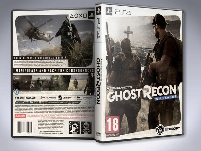 Capa Ghost Recon Wildlands PS4