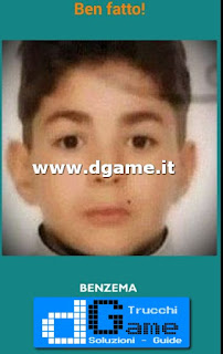 Soluzioni Guess the child footballer livello 48