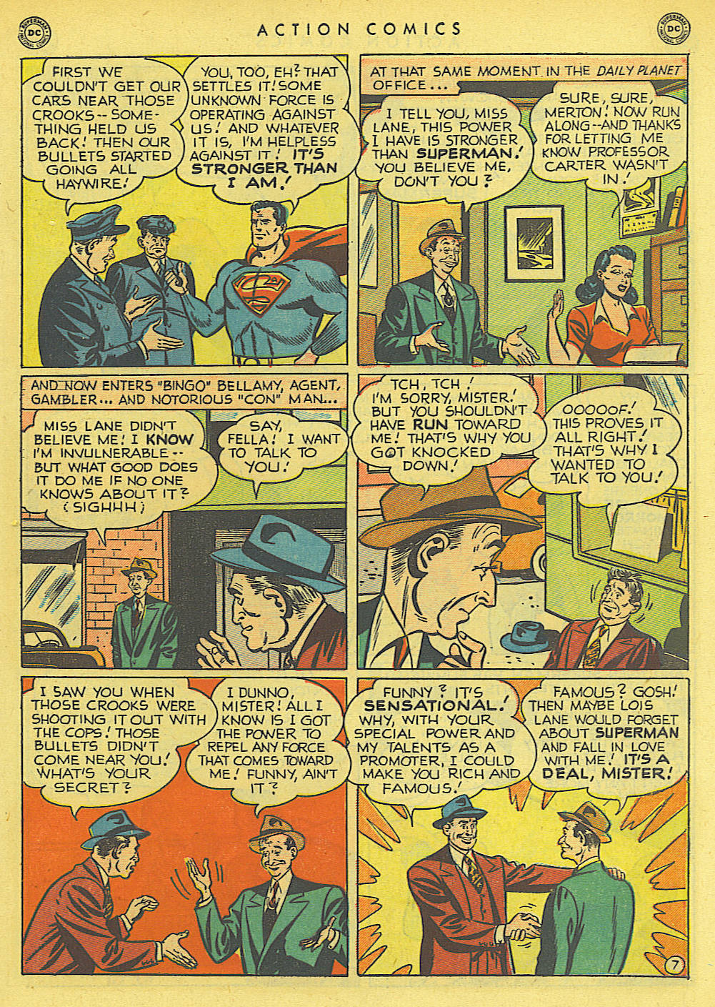 Read online Action Comics (1938) comic -  Issue #145 - 8