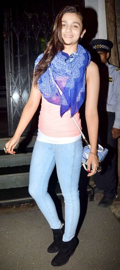 Alia Bhatt In Jeans And Shirt | www.pixshark.com - Images Galleries With A Bite!