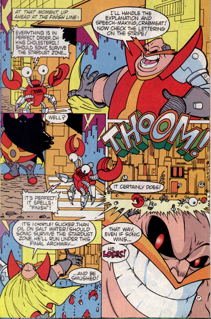Read online Sonic The Hedgehog comic -  Issue #25 - 17