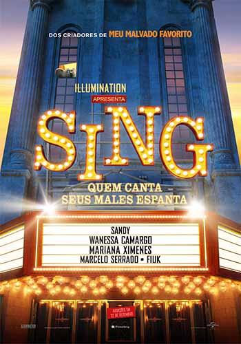 Sing: Quem Canta Seus Males Espanta Torrent – BluRay 720p/1080p Dual Áudio (2017)
