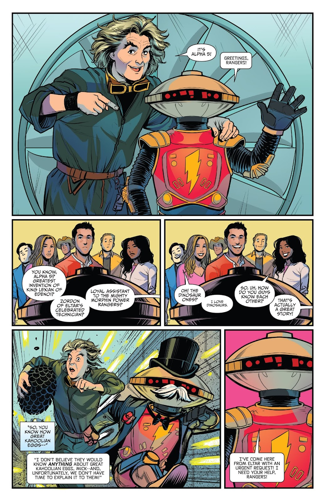 Read online Mighty Morphin Power Rangers 25th Anniversary Special comic -  Issue # Full - 22