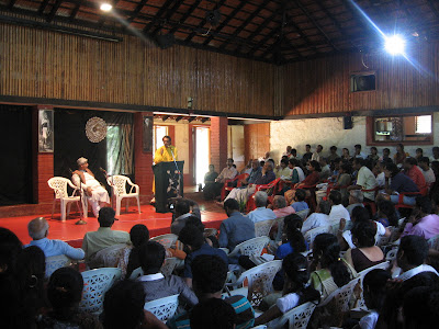 Literary discussion at Ninasam, Heggodu