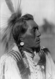 Rabbit Head, Hidatsa by Edward S Curtis