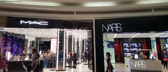 Cosmetics Shopping in Suria KLCC