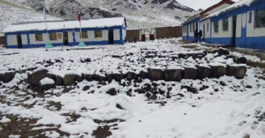 44 distritos puneños soportan fuertes nevadas