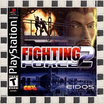 Fighting Force 2 PS1 Gameplay