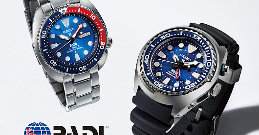 Watches By SJX: Seiko Introduces PADI Special Edition Dive Watches