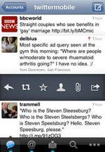 تويتر على الهواتف الذكية (اندرويد و iOS من آبل)