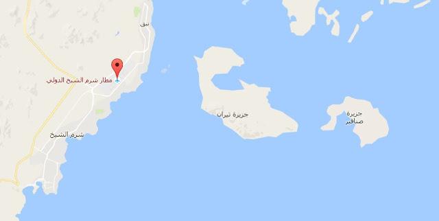 خريطة مطار شرم الشيخ الدولي Sharm El Sheikh International Airport Map