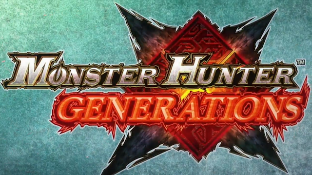 Monster Hunter Generations logo Nintendo 3DS Capcom