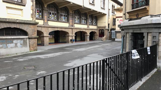 Instalaciones que ocupaba el colegio La Milagrosa