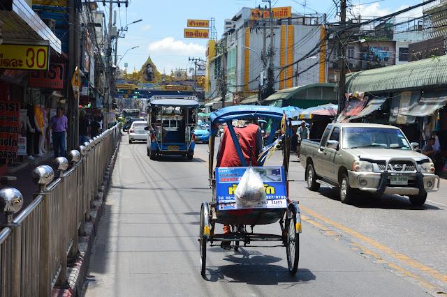 Les rues de Bangkok