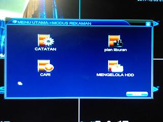 Cara Backup Hasil Rekaman DVR SPC Ke Flashdisk