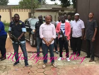 Arrested Criminal Mastermind, Evans Reveals How He Contracted Colon Cancer