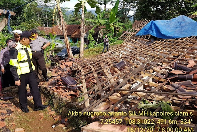 Kecamatan Ini Alami Kerusakan Terparah di Pangandaran