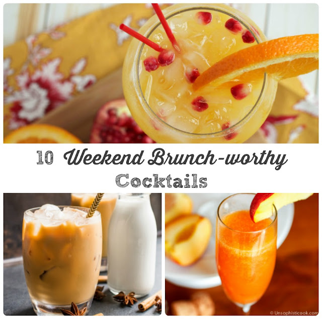 Raise a glass to the weekend with one of these 10 Weekend Brunch-worthy Cocktails. From tasty twists on the classics to unique concoctions that are sure to kick you out of that brunch cocktail rut!