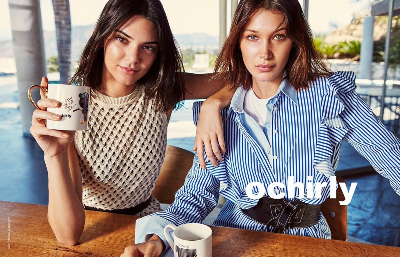 Ochirly Fall/Winter 2017 Campaign features Bella Hadid and Kendall Jenner