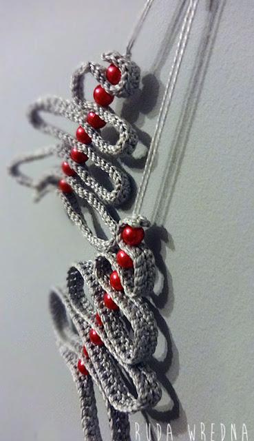 zawieszka na choinkę, choinka na szydełku, crochet ornament