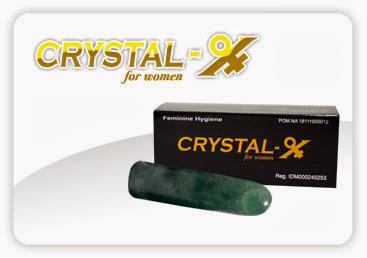Kemasan Crystal X Asli NASA
