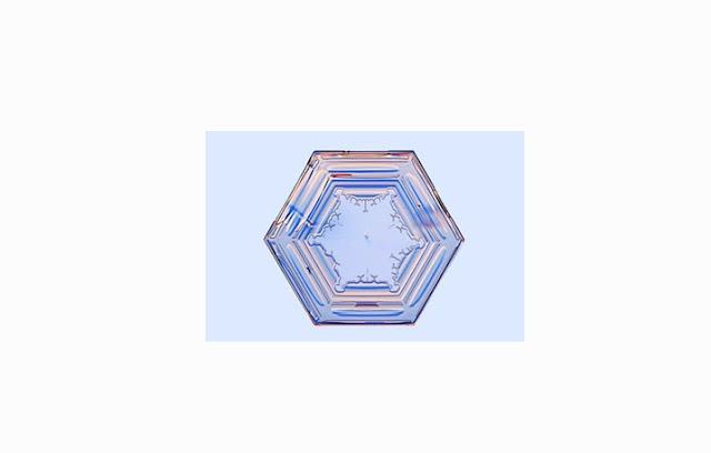 Salju Bentuk Prisma